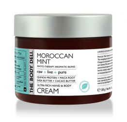 MOROCCAN MINT hand & body cream: The Body Deli