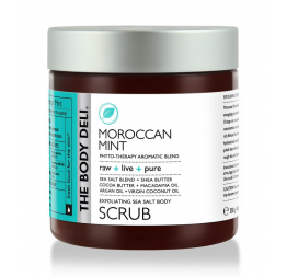 MOROCCAN MINT body scrub: The Body Deli
