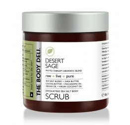 DESERT SAGE body scrub: The Body Deli