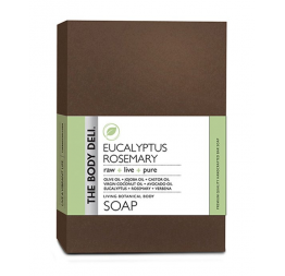 """EUCALYPTUS ROSEMARY botanical bar soap: The Body Deli"