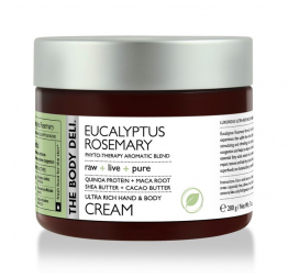 EUCALYPTUS ROSEMARY hand & body cream: The Body Deli
