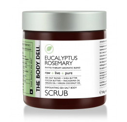 EUCALYPTUS ROSEMARY body scrub: The Body Deli