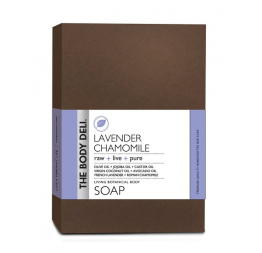 LAVENDER CHAMOMILE botanical bar soap: The Body Deli