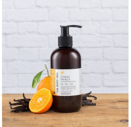 """CITRON VANILLA"" gel douche et mains: The Body Deli"