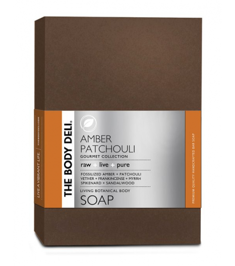AMBER PATCHOULI botanical bar soap: The Body Deli