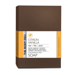 CITRON VANILLA botanical bar soap: The Body Deli