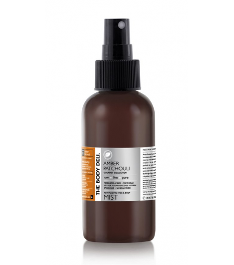 AMBER PATCHOULI mist for the face, body and hair: The Body Deli