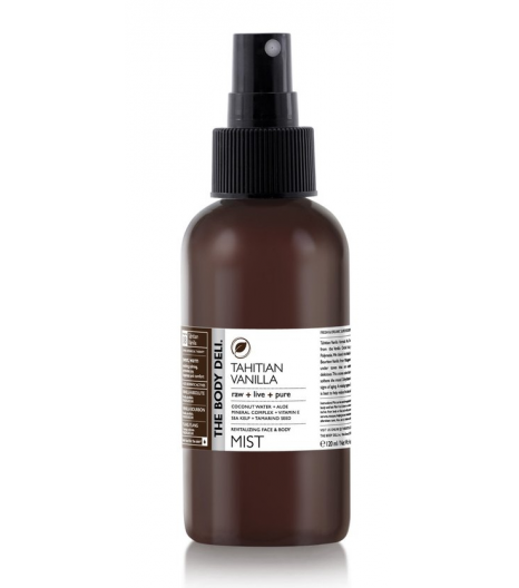 TAHITIAN VANILLA mist for the face, body and hair: The Body Deli