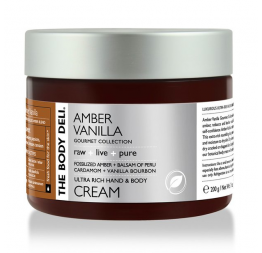 AMBER VANILLA hand & body cream: The Body Deli