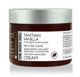 TAHITIAN VANILLA hand & body cream: The Body Deli