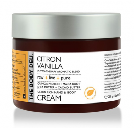 CITRON VANILLA hand & body cream: The Body Deli