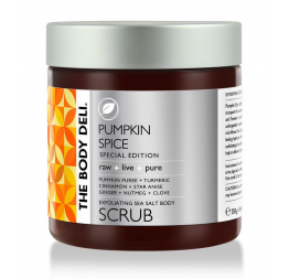 PUMPKIN SPICE body scrub: The Body Deli