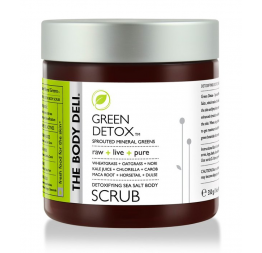 GREEN DETOX body scrub: The Body Deli