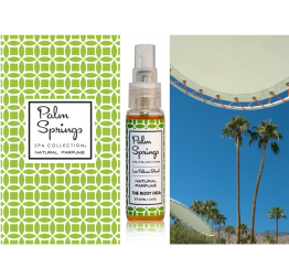 """PALM SPRINGS"" parfum naturel: The Body Deli"