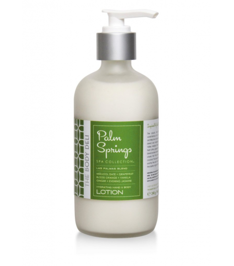 """PALM SPRINGS"" lotion pour le corps et les mains: The Body Deli"