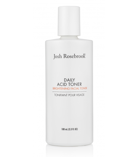 """DAILY ACID TONER"" brightening facial lotion: Josh Rosebrook"