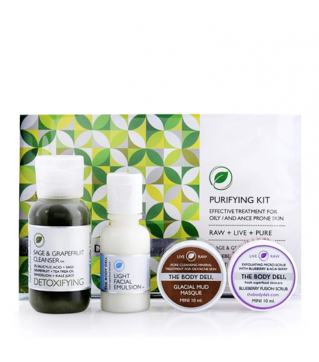 PURIFYING mini facial kit: The Body Deli