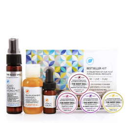 BEST SELLING mini facial kit: The Body Deli