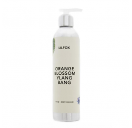 """HAND & BODY CLEANSER"" Orange Blossom Ylang Bang: LILFOX Miami"