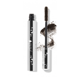 """DARK CHOCOLATE"" mascara marron foncé aux pigments de fruits: 100% Pure"