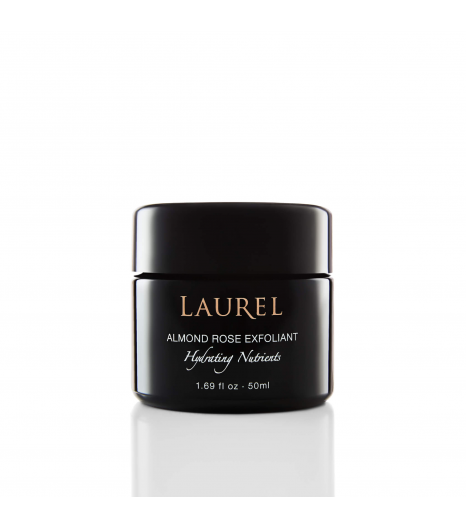 """ALMOND ROSE EXFOLIANT"" Hydrating Nutrients: Laurel"