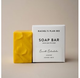 """CARROT CALENDULA"" soap for sensitive skin: Rachel's Plan Bee"