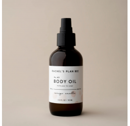 """ORANGE VANILLA"" body oil: Rachel's Plan Bee"