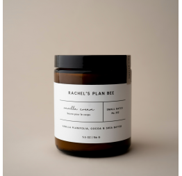 """VANILLA CREAM"" body butter: Rachel's Plan Bee"