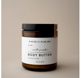 """SWEET PUMPKIN"" body butter: Rachel's Plan Bee"