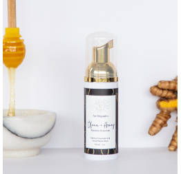 """OLENA + HONEY"" foaming cleanser: Ao Organics"