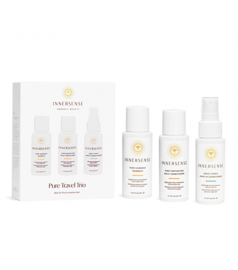 """""""PURE TRAVEL TRIO"""" for fine to normal hair: Innersense"""