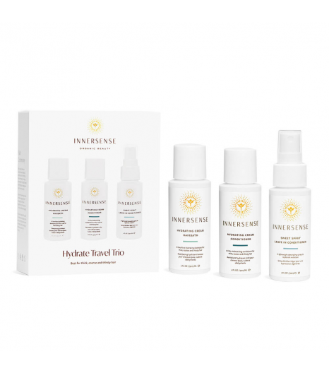 """HYDRATE TRAVEL TRIO"" for thick, coarse and thirsty hair: Innersense"