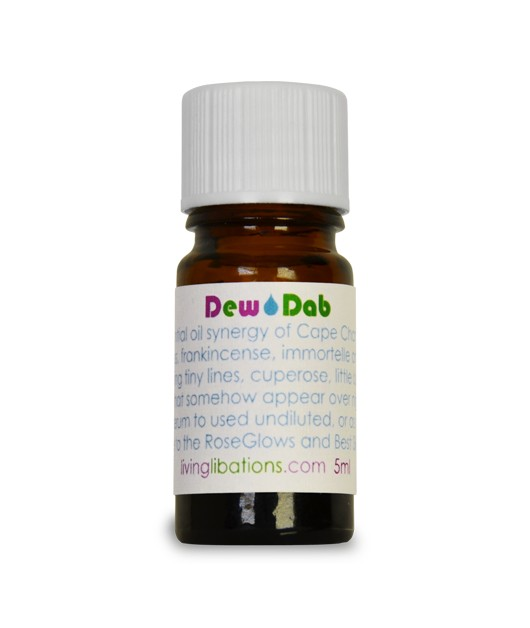 """DEW DAB"" soothing spot elixir: Living Libations"