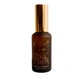 """The Alchemist"" vanilla coffee body oil: Wabi Sabi"