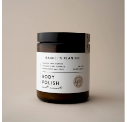 """SWEET COCONUT"" body polish: Rachel's Plan Bee"
