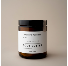 """SWEET COCONUT"" body butter: Rachel's Plan Bee"