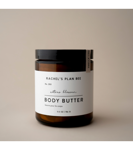 """CITRUS BLOSSOM"" body butter: Rachel's Plan Bee"