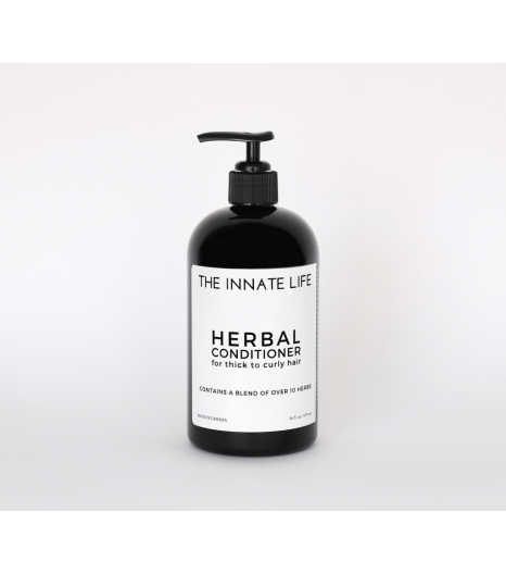 """""""HERBAL"""" conditioner thick to curly hair: The Innate Life"""