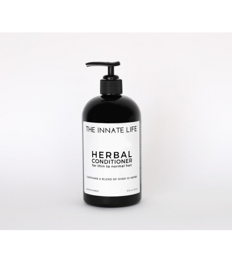 """""""HERBAL"""" conditioner thin to normal hair: The Innate Life"""