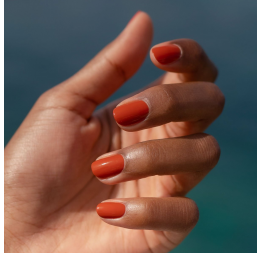 """""""TERRACOTTA"""" scorched red earth nail polish: Manucurist"""