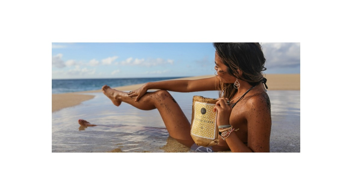The wonderful Coffee Scrubs of 'ili Hawaiian Skincare
